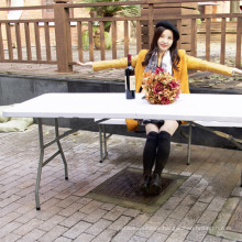 Best Price Quality Outdoor Picnic Dining Party Foldable HDPE Plastic Folding Table