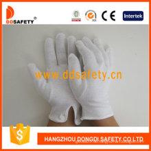 100% Bleichmittel Baumwolle / Interlock Arbeitshandschuhe mit CE (DCH109)