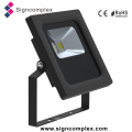 Shenzhen Super Slim Rotatable Outdoor IP65 COB 10W Flood Light LED