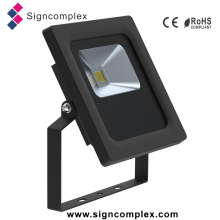 0-355degree Rotatable Waterproof IP65 Slim LED Flood Light 10W