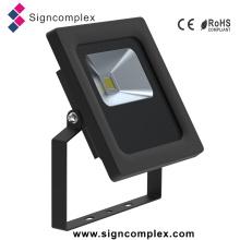 Luz de inundação magro impermeável 10W Rotatable do diodo emissor de luz IP65 0-355degree
