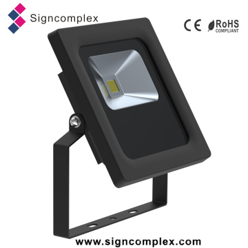 Shenzhen Super Slim Rotatable Outdoor IP65 COB 10W Flood Light LED