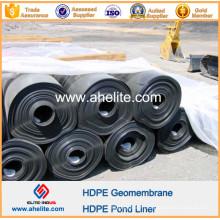 Fournisseur de géomembranes de HDPE de résistance chimique