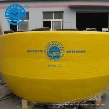 marca de naufragio de emergencia boya de flotación de yate a prueba de agua lanzamiento de anillo de boya