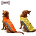 2017 doglemi sécurité réfléchissant chien vêtements doux hiver chien chandail