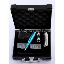 Kit profesional de alta velocidad digital de la máquina del tatuaje para el suministro de los labios