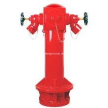 Чугунный сухой пожарный гидрант
