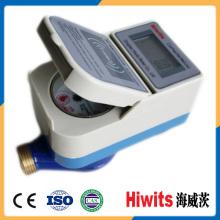 Tipo residencial Medidor de agua prepago inteligente con tarjeta IC