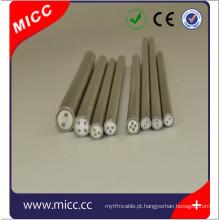 cabo de termopar revestido com metal isolado mineral