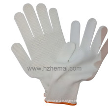 13 Gauge Polyester Gloves PVC Dots Industrial Safety Work Glove
