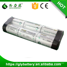 Geilienergy Factory Direct 7.2v 4000mah NIMH batería recargable