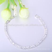 Bracelet en argent 925 cz bracelet de crémation bracelet de noël
