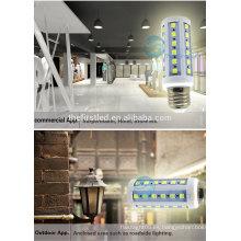 E27 blanco cálido blanco, SMD 5730 luces del maíz del proyector ahorro de energía lámparas llevadas