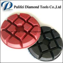 Le broyeur de plancher de 4inch a employé le tampon abrasif de polissage sec de diamant d'outils abrasifs