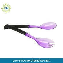 colored plastic spoon set