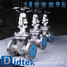 Válvula de compuerta Didtek con manivela