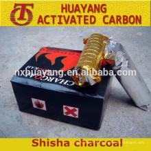 carbón de leña para la cachimba, carbón de leña shisha, narguile shisha carbón de leña