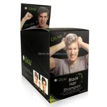 Herbal Extract Hair Color Shampoo of Hair Dye Colour Shampoo Permanent Hair Dye Color Natural Black