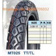 Pneu de moto/moto pneu 3.00-17 padrão de venda quente