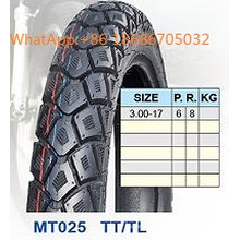 Мотоцикл шин/мотоцикл шина 3,00-17 горячей продажи шаблон