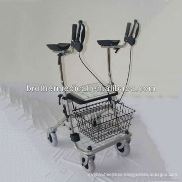 chrome plated rollator