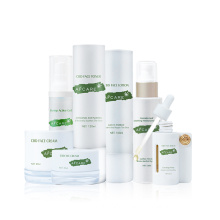 Hemp Leaf Cbd Skincare Series Set Private label Whitening Lighting Skincare Set