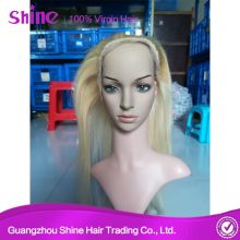 Blonde 613 360 Transparent Lace Closure Human Hair