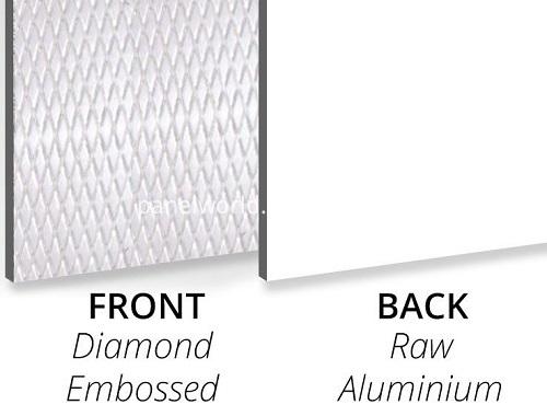Diamondembossed Aluminium