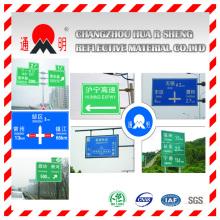 Súper alta intensidad grado prismático película reflexiva cubrir para la señal de tráfico de la carretera (TM9200)