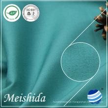 100% anel de algodão de algodão sólido 32 * 32/130 * 70 tecido para fábricas de vestuário