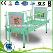 Single function medical children bed