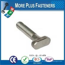 Fabricado em Taiwan Têxteis personalizados T Cabeça de martelo Aço de carbono Aço inoxidável Material de latão