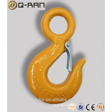 Crane lifting 320 Carbon Steel Forged Eye Hook With Latch