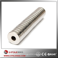 D100xID50x20mm High Power Magnets Ring Super Stong Round Axial N38 For Industrial