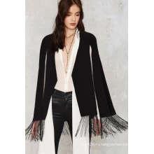 Офисная Мода Бахромой Женщин Мыс