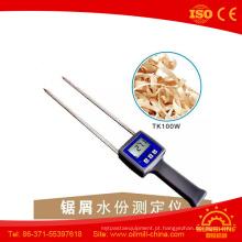 Verificador de bambu da umidade da mobília da placa da compressão dos cogumelos da fibra de Tk100W