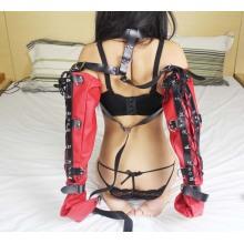 Сексуальные перчатки с двойным рукавом на шее