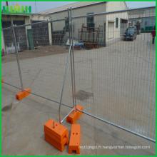 Panneaux de clôture mobiles temporaires