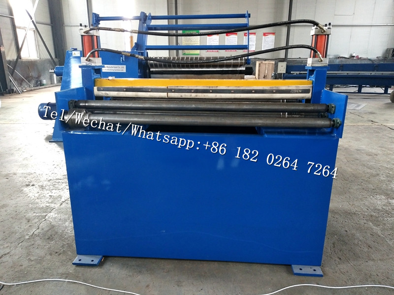 coil roll cutting slitting and rewinding machine