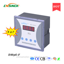 DM96-F 96*96mm competitive price LED display single phase digital frequency meter, measure AC frequency