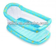 transparent Infant Inflatable baby Bathtub