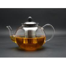 1200ml, Glass Tea Pot with Infuser, High Borosilicate Glass Tea Pot (GT-013)