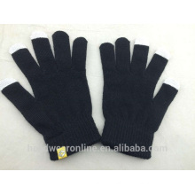 specialty custom practical mobile phone and tablet computer touch screen gloves