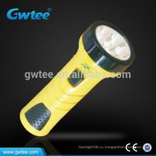 Перезаряжаемый фонарик с супер яркой батареей