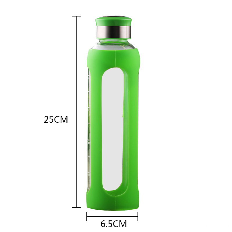 New Design Drinking Glass Water Bottle
