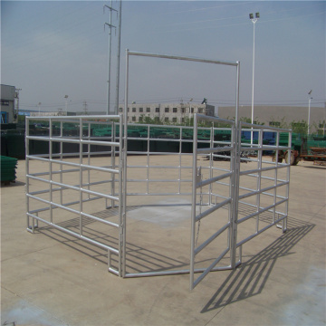 round+pen+for+horse+training+fence