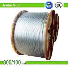 ASTM AAAC padrão todo o cabo da antena do condutor da liga de alumínio