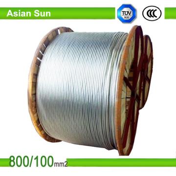 ACSR-Luftkabel-Aluminiumleiter-Stahl verstärkte ACSR