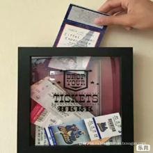 Рамка глубокой тени 3D для билета