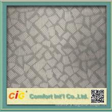 Tecido de cobertura do assento popular 100% poliéster escovado em relevo